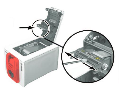 Чистка печатающей головки карт-принтера